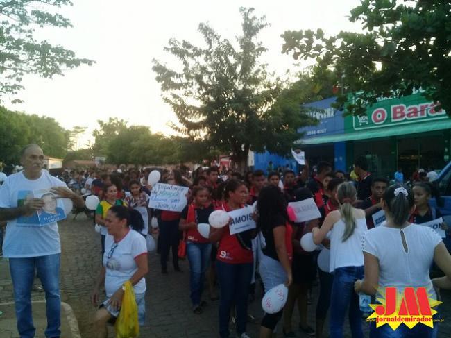 Mirador: O povo na rua clamando por justiça