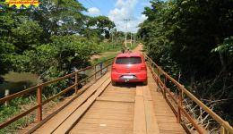 Ponte da prainha liberada para o tráfego