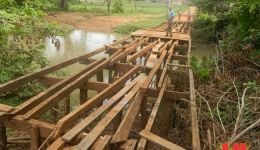 Mirador: Pontes e estradas em recuperação