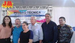 Diretor da FUNASA, Arnaldo Melo, em Nova Iorque Maranhão