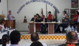 Câmara  Municipal contraria parecer do Tribunal e votam contra