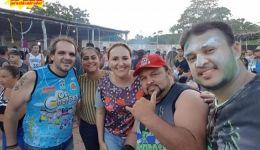 Deputada Nina Melo no carnaval de Mirador