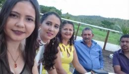 Miradorense Annanda Guimarães no Paraguai