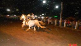 Vaquejada e festejo em Ibipira