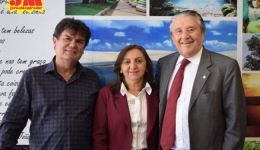 Prefeita de Colinas em Brasília