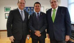 Deputado Rigo Teles e prefeitos em Brasília